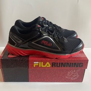 ✨NEW✨FILA PROMPT SNEAKERS MEN'S (BLACK AND RED)